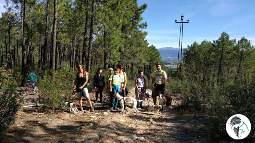 Salida de senderismo con perros - sept17