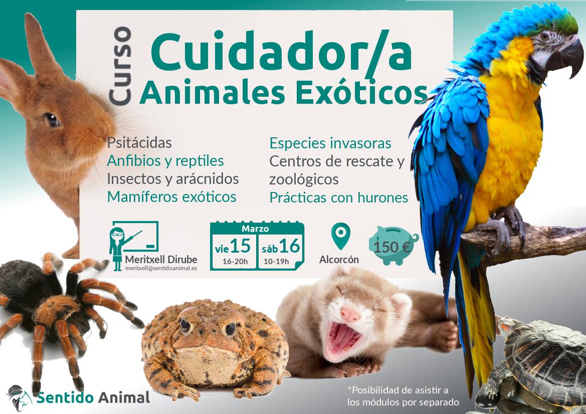 Cuidador de animales exóticos
