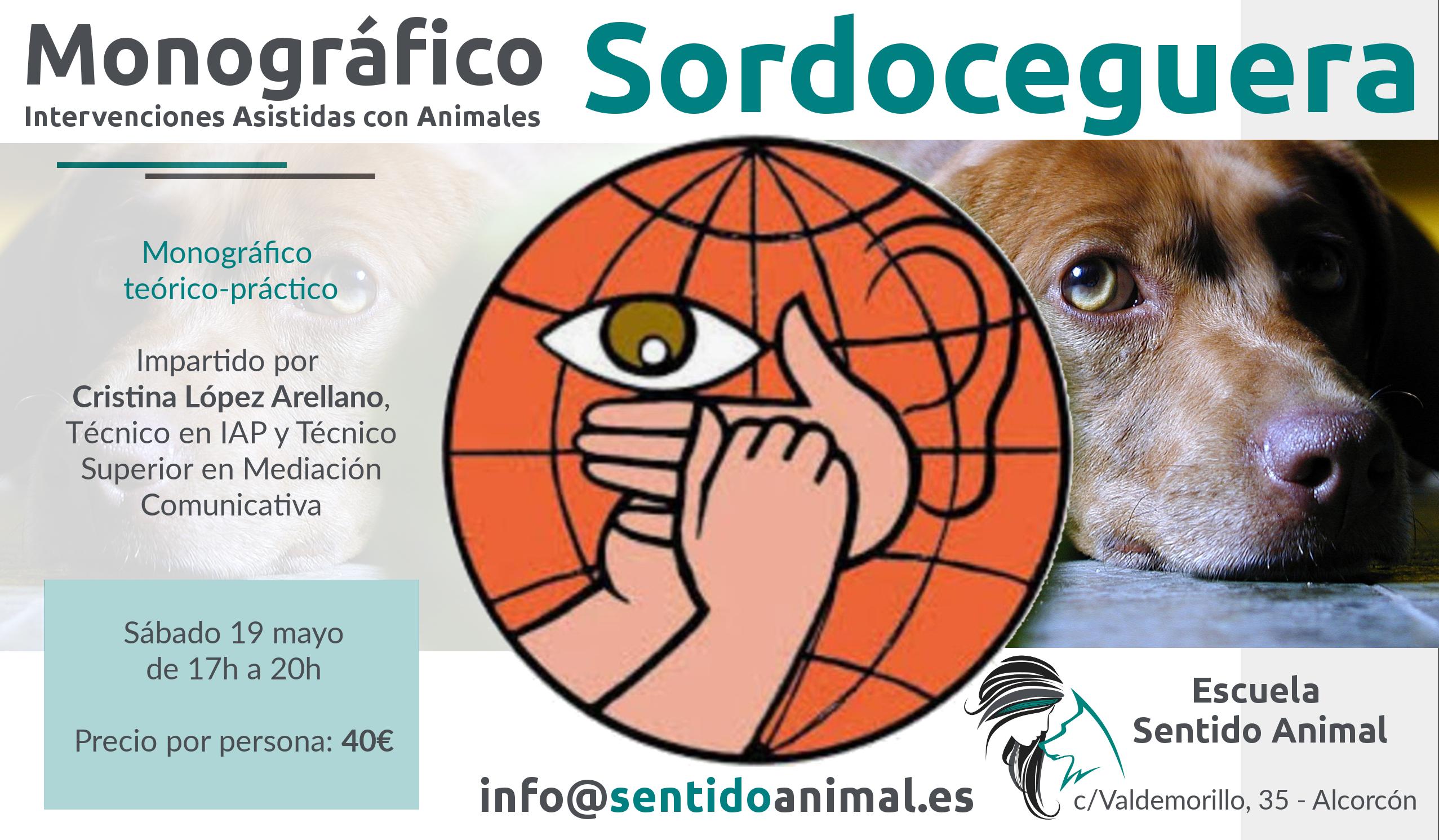 Sordoceguera Monográfico de Intervenciones asistidas con Animales