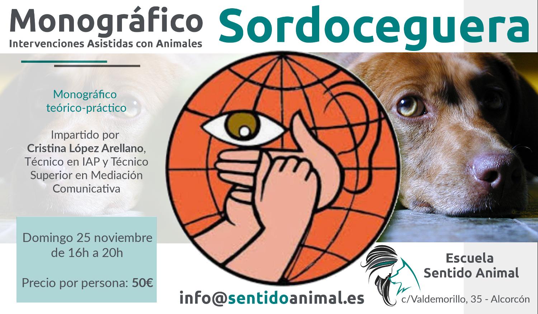 Sordoceguera Monográfico en Escuela Sentido Animal