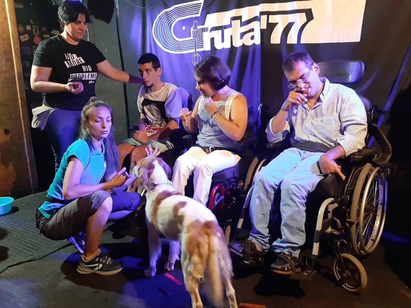 Intervenciones Asistidas con Animales para personas con parálisis cerebral