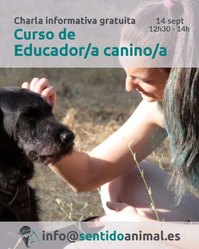 Charla informativa gratuita - curso de educador canino