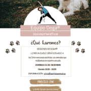 lanzamiento DOGA 15dic19 - yoga con perros